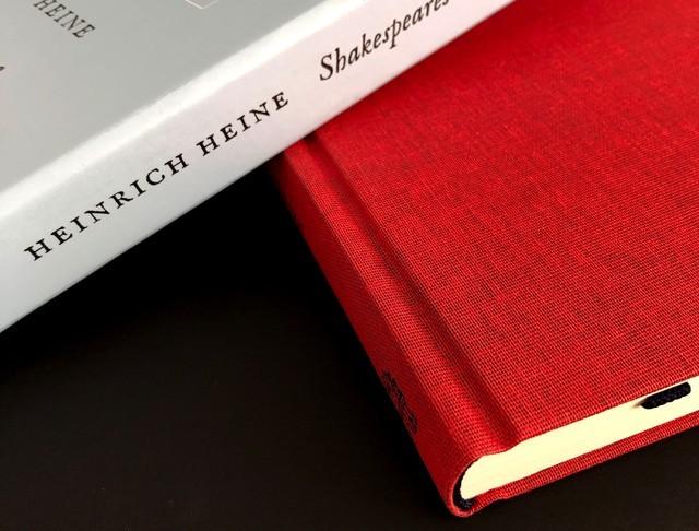 Shakespeares Mädchen und Frauen, Autor:Heinrich Heine, Verlag:Hoffmann und Campe Verlag Überzug:Buchleinen, Dubletta 3263