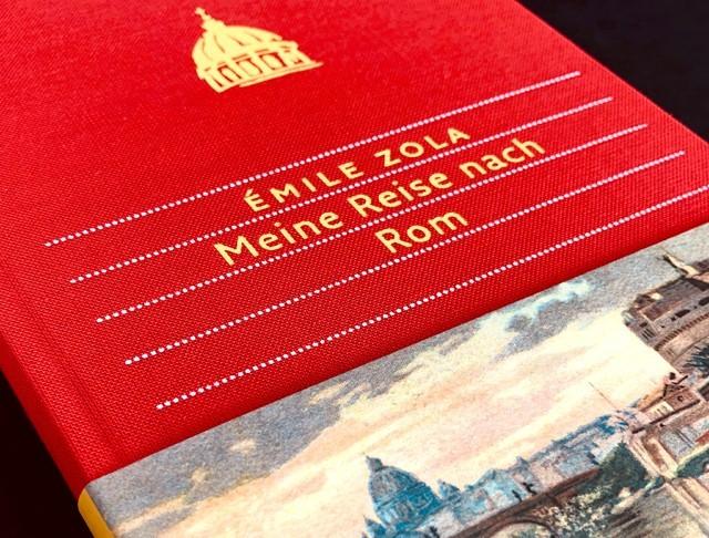 Meine Reise nach Rom, Autor:Émile Zola, Verlag:Dieterich′sche Verlagsbuchhandlung Überzug:Buchleinen, Regent 58009