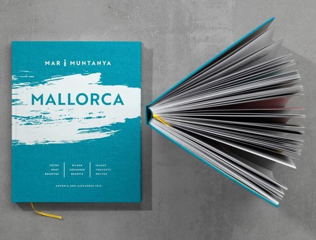 Mallorca, Autoren:Antonia und Alexander Feig, Verlag:Büro Wilhelm Verlag Überzug:Buchleinen, Fancy Linen 59017